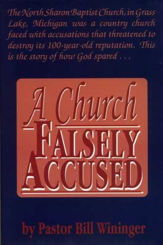 church falsely accused