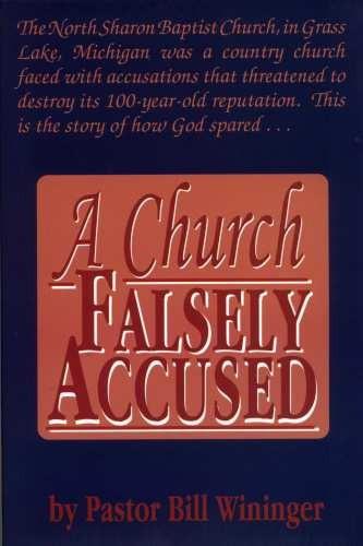 church falsely accused