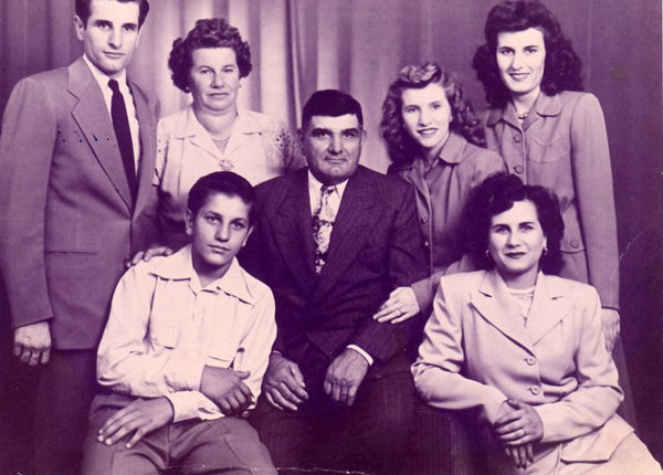 gerencser family 1950s