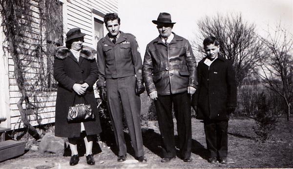 mary paulie paul robert gerencser 1940's