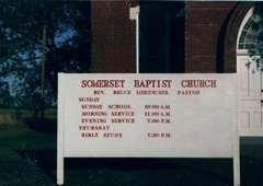 somerset baptist church 1985