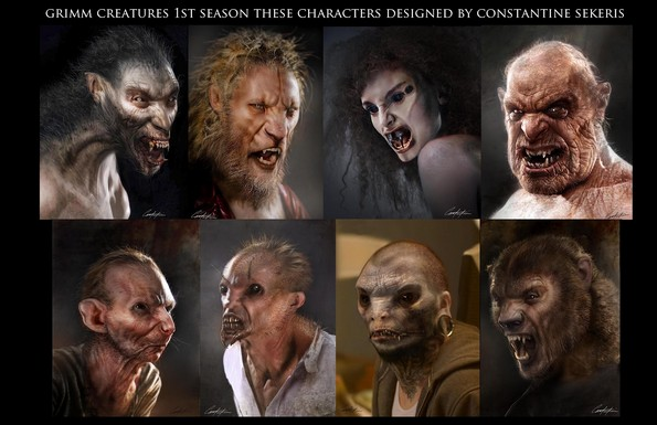 grimm characters
