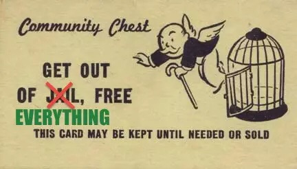 get out of everything free card
