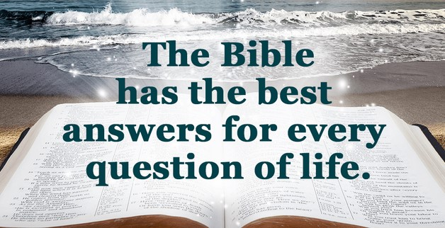 bible has all the answers