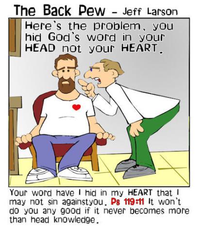 head not heart knowledge