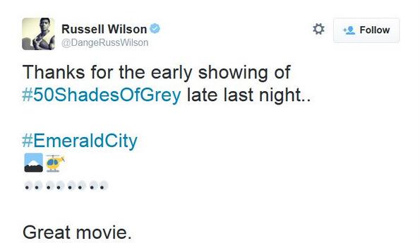 russell wilson tweet