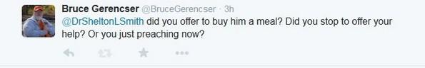 bruce gerencser twitter response shelton smith