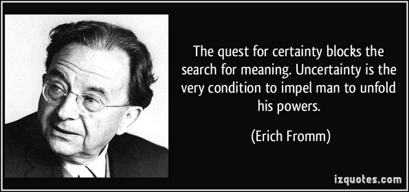 certainty erich fromm