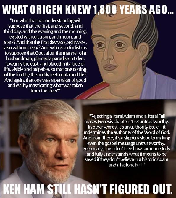 ken ham and origen