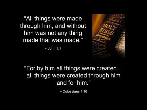 all things made by god