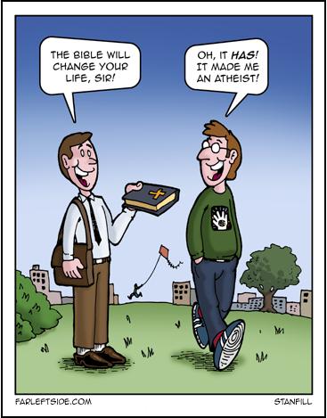 bible made me an atheist