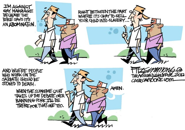 gay marriage an abomination