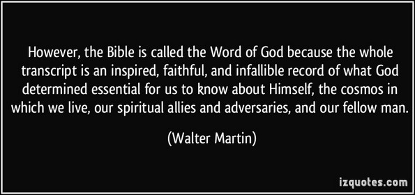 bible word of god