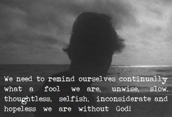 hopeless without God
