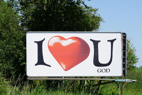 i heart you god