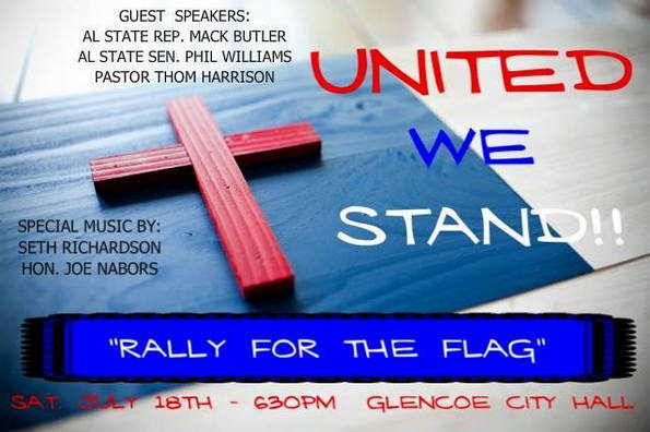 rally for the flag glencoe