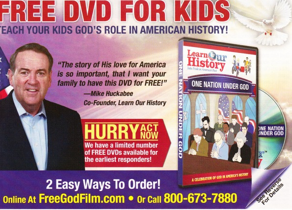 christian advertising cards