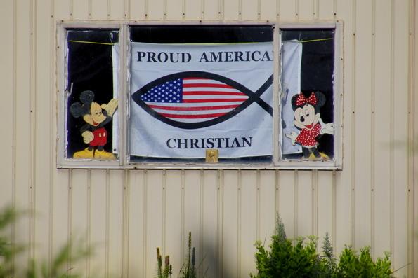proud american christian