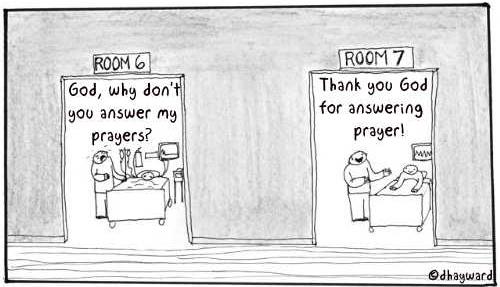 answered and unanswered prayer