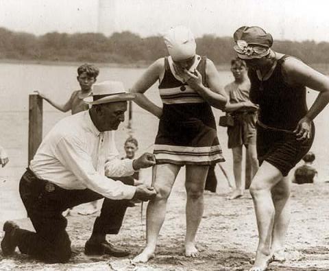 bathing suit length