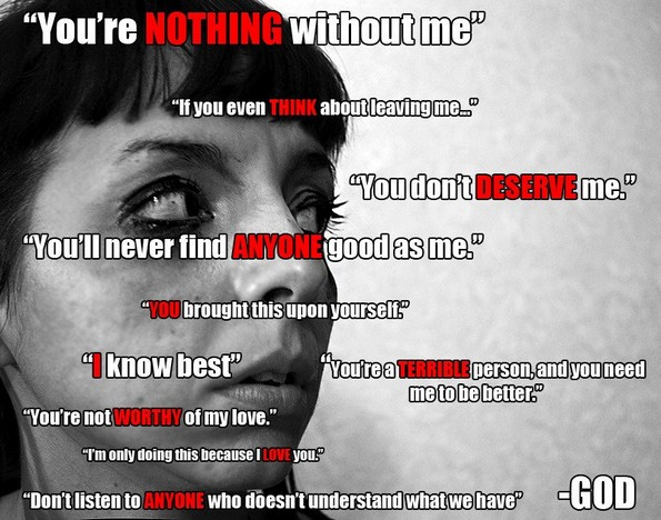 god domestic abuse