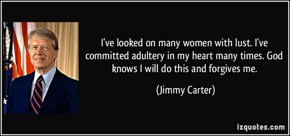 jimmy carter lust quote