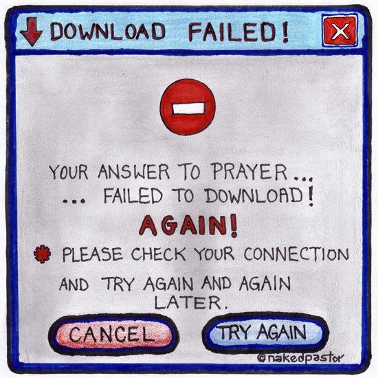 unaswered prayer