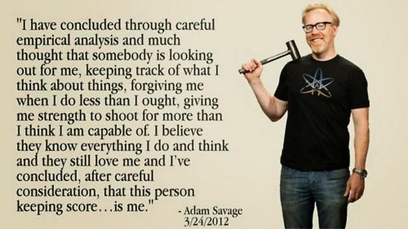 adam savage quote