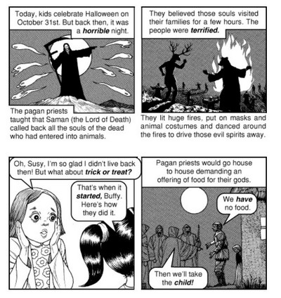 chick tract halloween