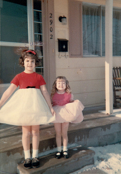 polly and kathy shope 1965