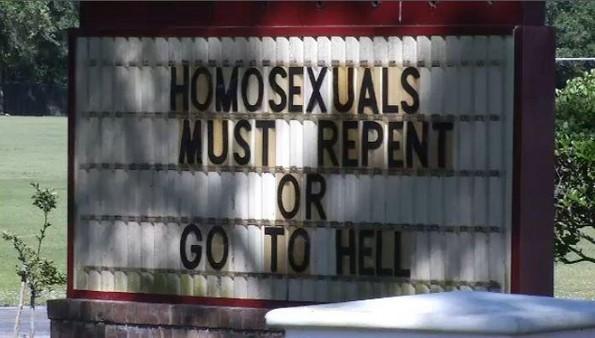 homosexuals must repent