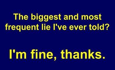 i am fine thanks