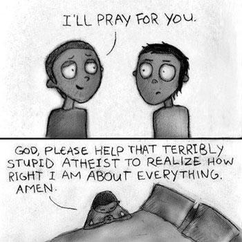 pray for atheist