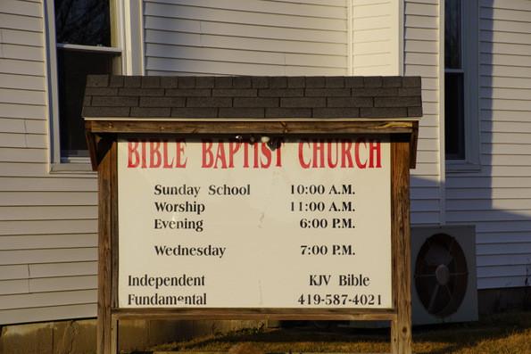 bible baptist church grover hill ohio