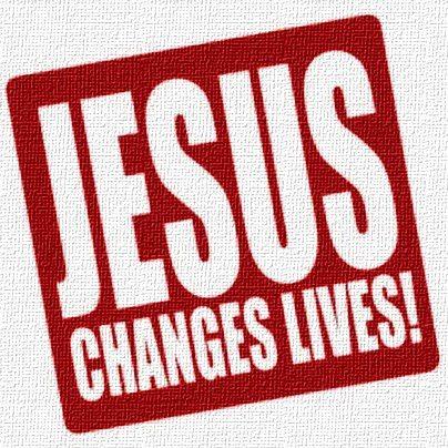 jesus changes lives