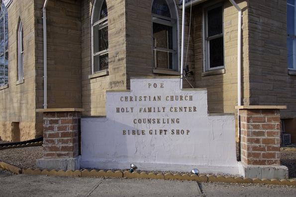 poe christian church & holy family center