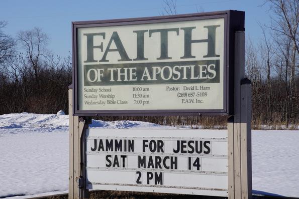 faith of the apostles church paw paw michigan