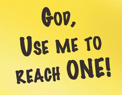 god use me to reach one