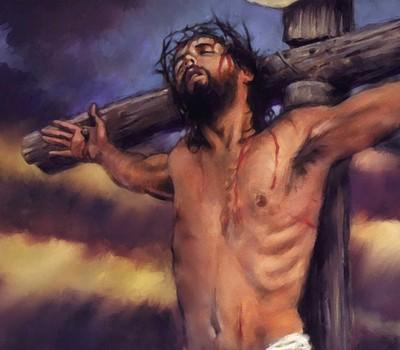jesus death on cross