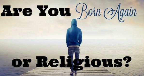 born again or religious
