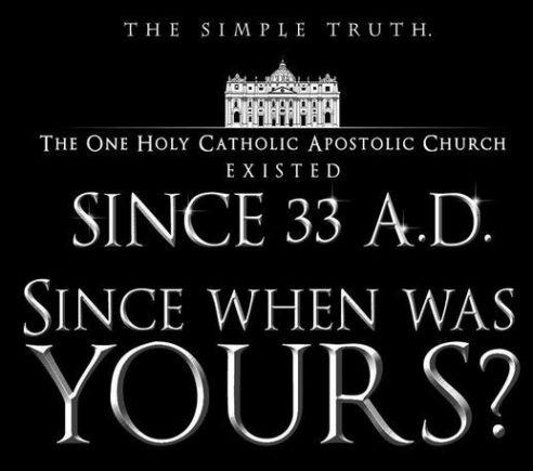 catholic one true church