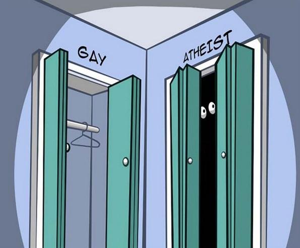 atheist closet