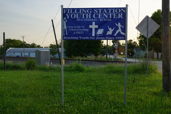 filling station youth center butler indiana