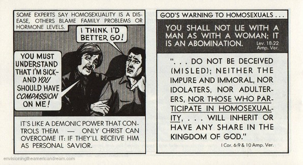 gay blade chick tract