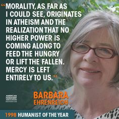 barbara ehrenreich god quote 2
