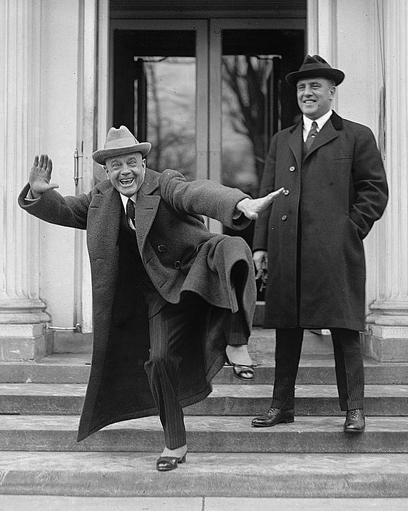billy sunday at the white house
