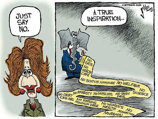 just say no republicans