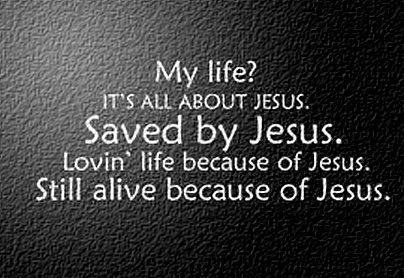 life all about jesus