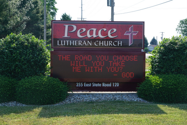 peace lutheran church fremont indiana