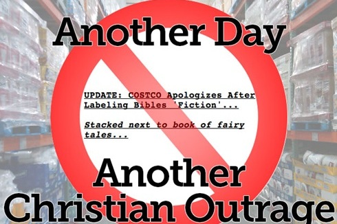 christian outrage